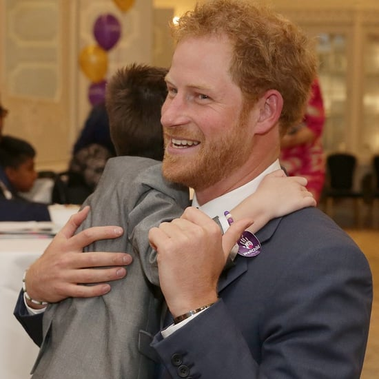 Prince Harry at WellChild Awards October 2016