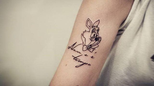 Small Alice In Wonderland Tattoos Popsugar Love Sex