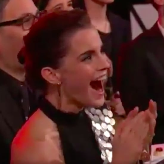 Emma Watson's Reaction to Belle at MTV Movie and TV Awards
