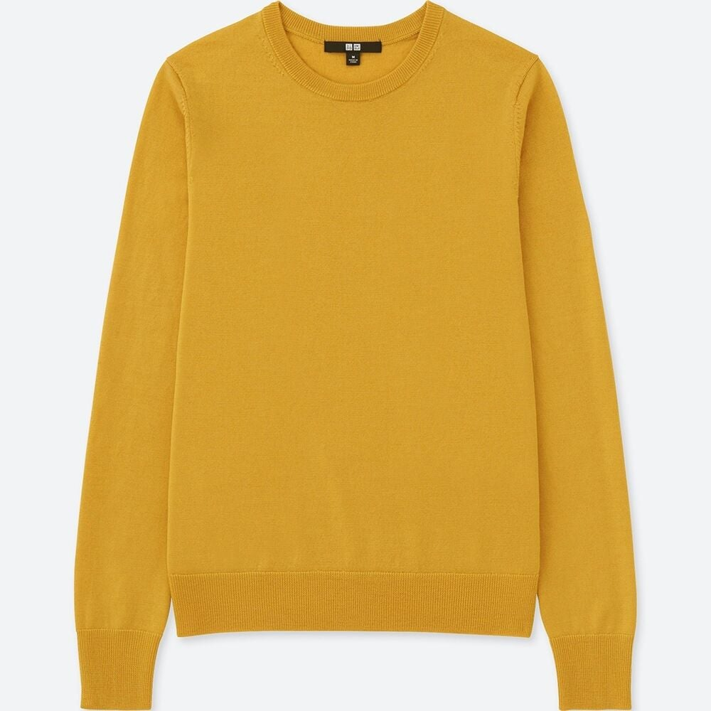 Uniqlo Extra Fine Merino Crew Neck Sweater ($39.90)