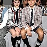 Maisie Williams and Her Boyfriend in Matching Eye Shadow