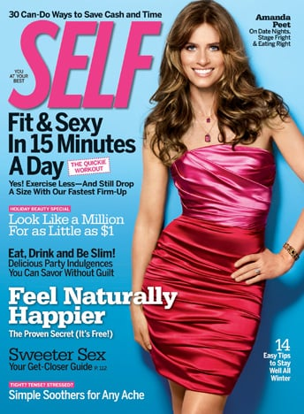Amanda Peet Talks Health in December Issue of Self