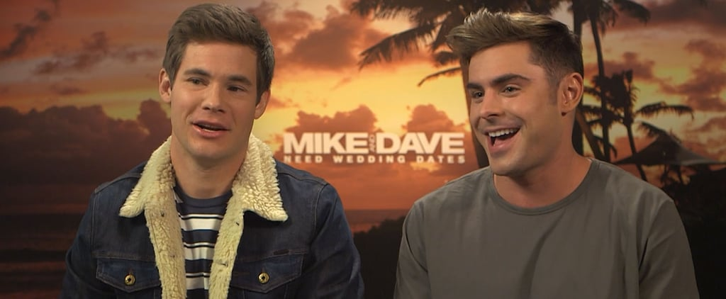 "Zac Efron on Working With Adam DeVine: ""I Was a Little Starstruck Every Time We Hung Out"""