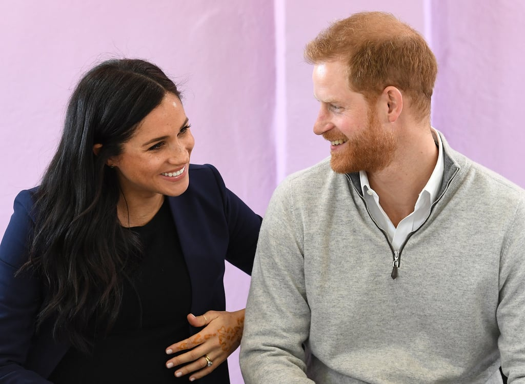 "Prince Harry and Meghan Markle's royal tour of Morocco may be over now, but the sweet moments just keep coming! Following the couple's school visit in Asni over the weekend, a new video has surfaced showing Harry is already a pro at cracking dad jokes. After a woman congratulated the Duchess of Sussex on her pregnancy, the prince hilariously chimed in, asking Meghan, ""What, you're pregnant? Is it mine?"" OK, Harry's got jokes!  Harry and Meghan concluded their three-day tour of Morocco by meeting with King Mohammed VI of Morocco on Monday. The purpose of their trip was to highlight ""vital roles that girls' education and youth empowerment are playing in, and shaping, modern Morocco."" Judging by all the special moments they shared with kids, I'd say they did just that. Check out Harry and Meghan's funny interaction at the 50-second mark in the clip ahead!      Related:                                                                                                           Mom-to-Be Meghan Markle Is Positively Glowing During Her Pregnancy"