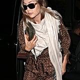 Gigi Hadid During London Fashion Week