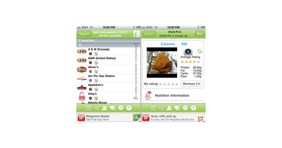Restaurant Nutrition - Best Apps For Counting Calories..