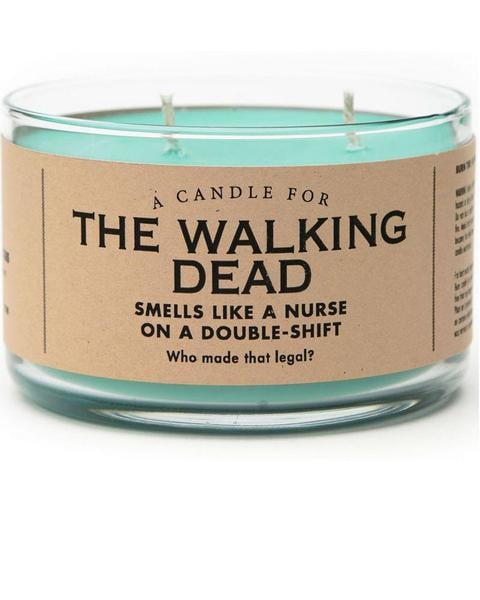 Whiskey River Soap Co. The Walking Dead Candle