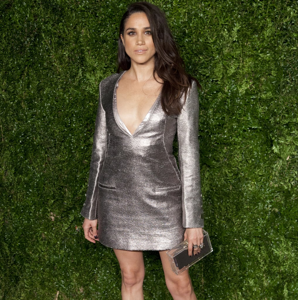 Meghan Markle's Silver Misha Nonoo Dress at the CFDA Awards