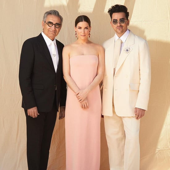 The Levy Family's Best Moments at the 2021 SAG Awards