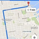Store offline maps of cities.