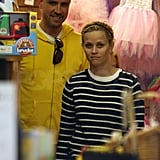 Reese Witherspoon Goes Casual With Jim For Ice Cream and Shopping