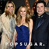 Heidi Klum, Kelly Preston, and John Travolta