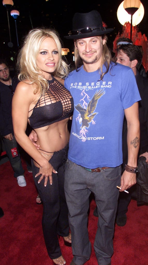 Pamela Anderson and Kid Rock, 2001