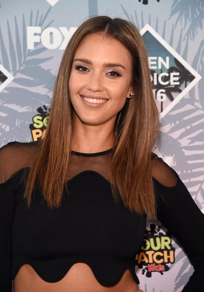 Celebrity Hair and Makeup at 2016 Teen Choice Awards