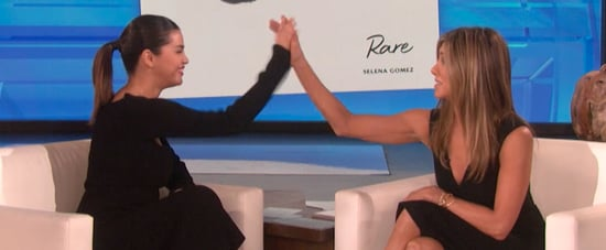 Selena Gomez's Interview With Jennifer Aniston on Ellen Show