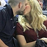 Shakira Celebrates Her Billboard Wins With Courtside PDA