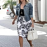 Reese Witherspoon's Tropical Skirt Style