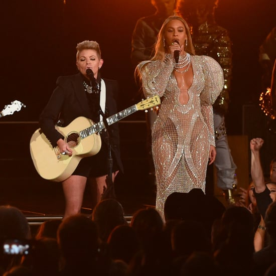 Beyonce Singing With the Dixie Chicks