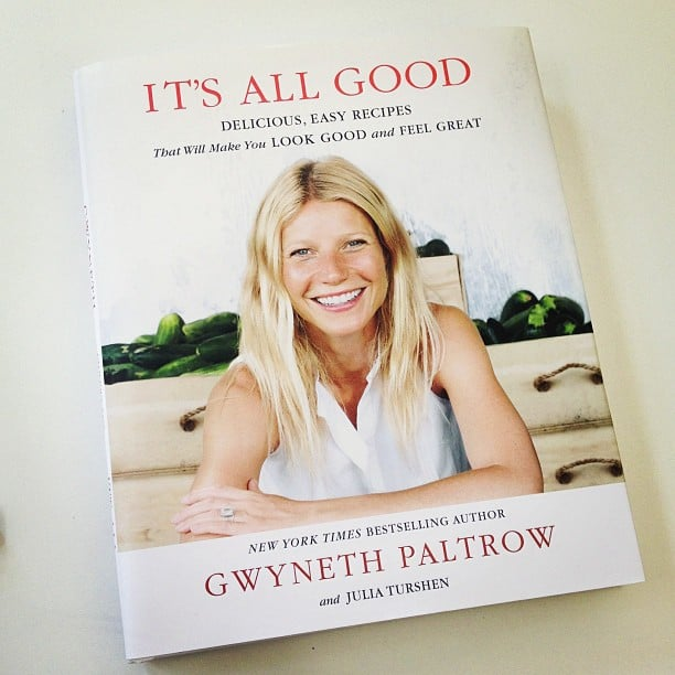 """""""Gwyneth and I are about to kiki in the kitchen."""""""
