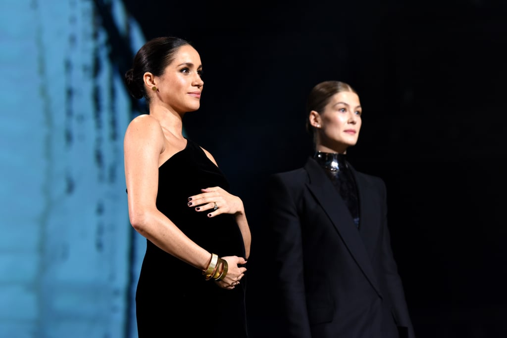 Meghan Markle's Black Dress at the 2018 Fashion Awards