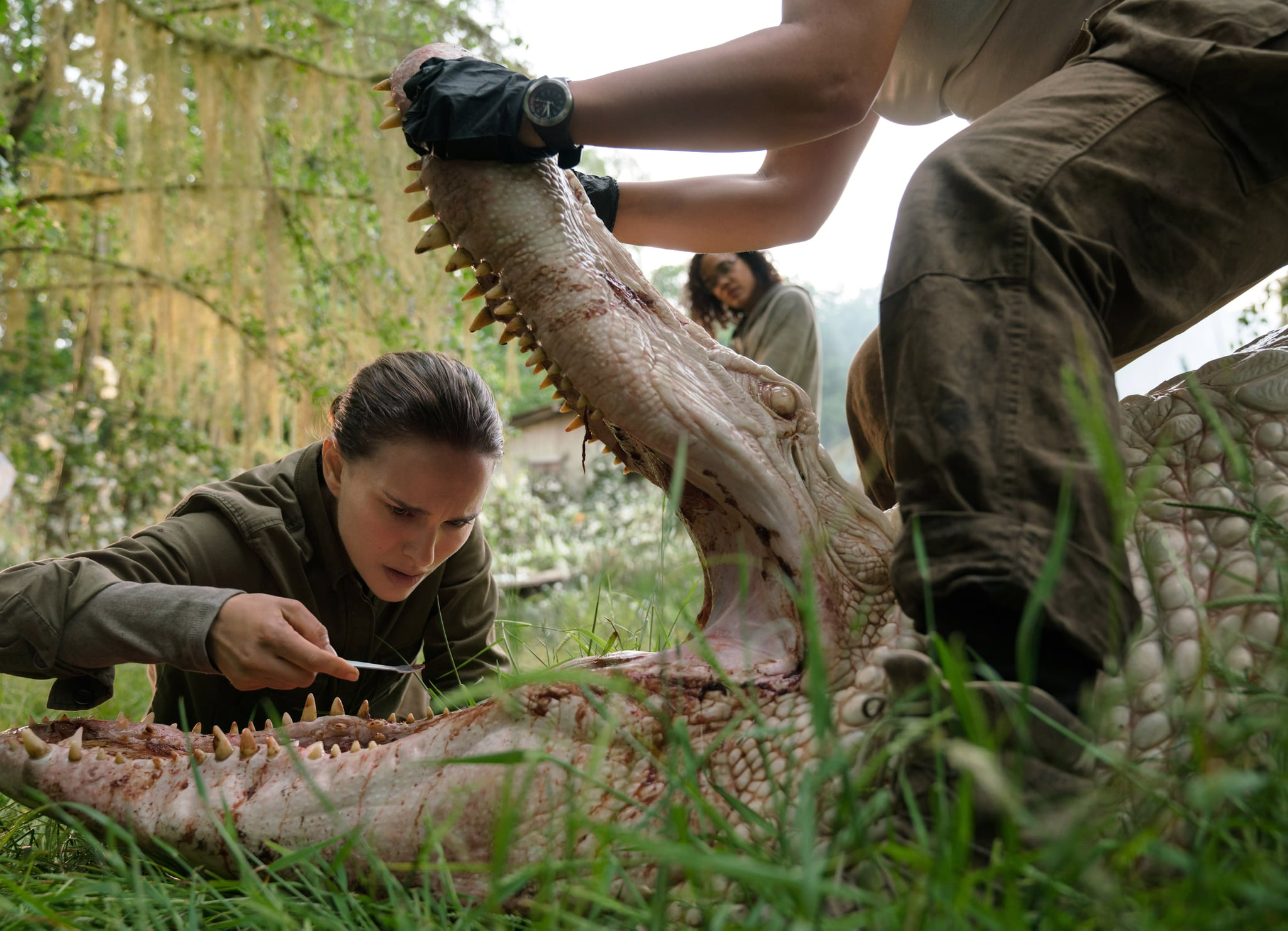 Go Behind The Scenes of Natalie Portman's 'Annihilation'