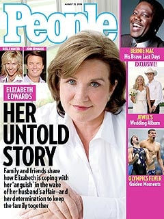 Elizabeth Edwards on People Magazine