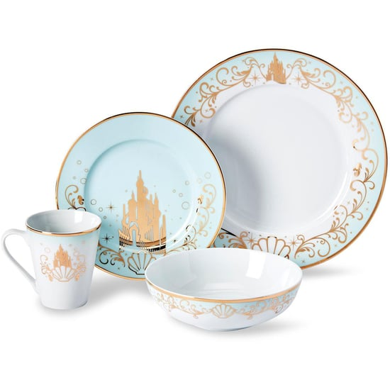 Target Is Selling a Disney Princess 16-Piece Dinnerware Set