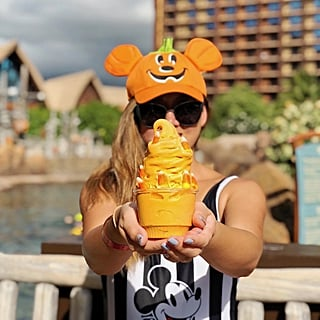 Disney's Pumpkin Spice Soft Serve at Aulani Resort and Spa