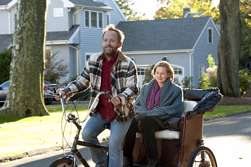 John Benjamin Hickey Hickey has spent several seasons on  The Big C, but it hasn't been until its final season, called Hereafter, that he's received an Emmy nomination.