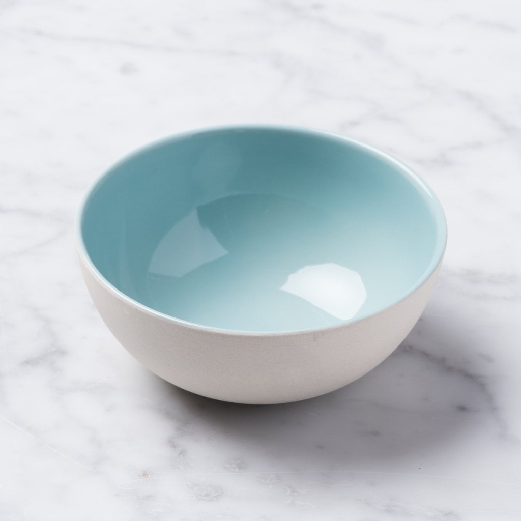 Blue Shell Bisque Bowl