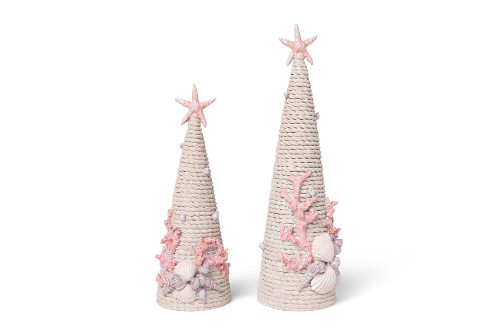 HomeGoods Underwater Themed Decorative Trees With Coral & Shell Accents ($13, $17)