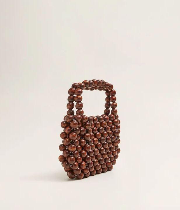 MNG Beaded Wood Bag ($89.95)
