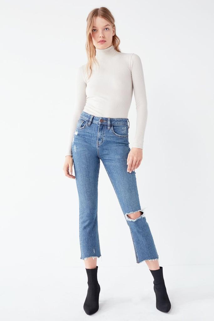 BDG Kick Flare Cropped Jean
