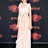 Natalia Dyer at Stranger Things Season 2 Premiere