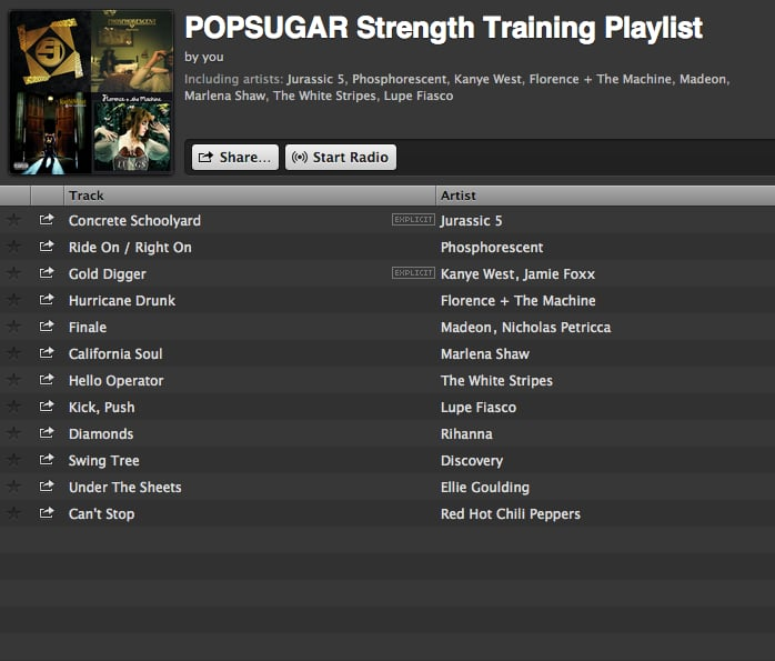 Songs For Strength Training