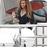 Beyoncé Celebrates 31 in France With Jay and Blue!