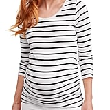Maternity Side Ruched Long Sleeve