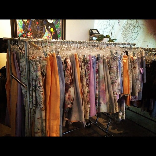 Whitney Port held a sample sale for her clothing line. Wonder if she'd ship to Australia...