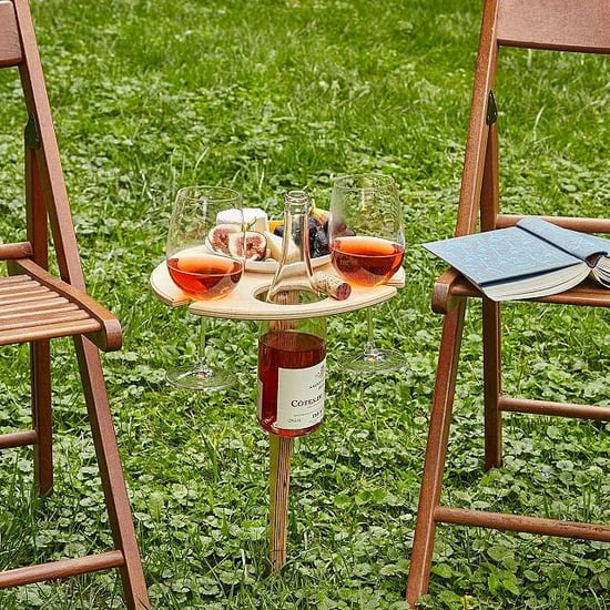 Mini Outdoor Wine and Beer Tables From Uncommon Goods