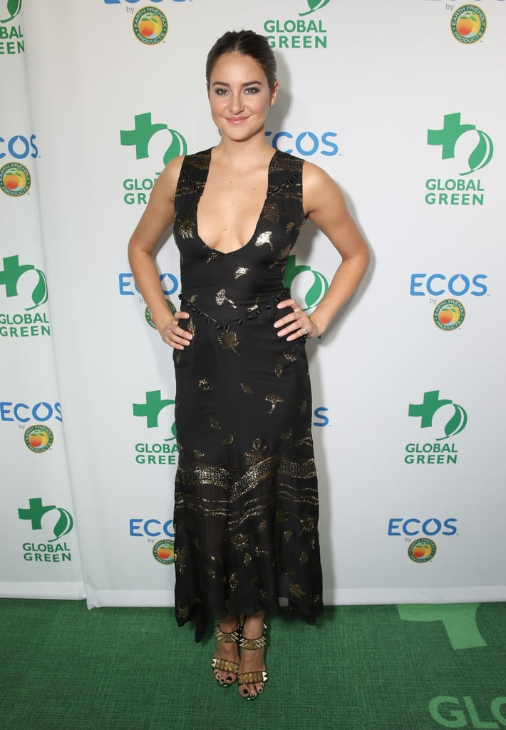 Shailene at the Global Green 20th Anniversary Environmental Awards