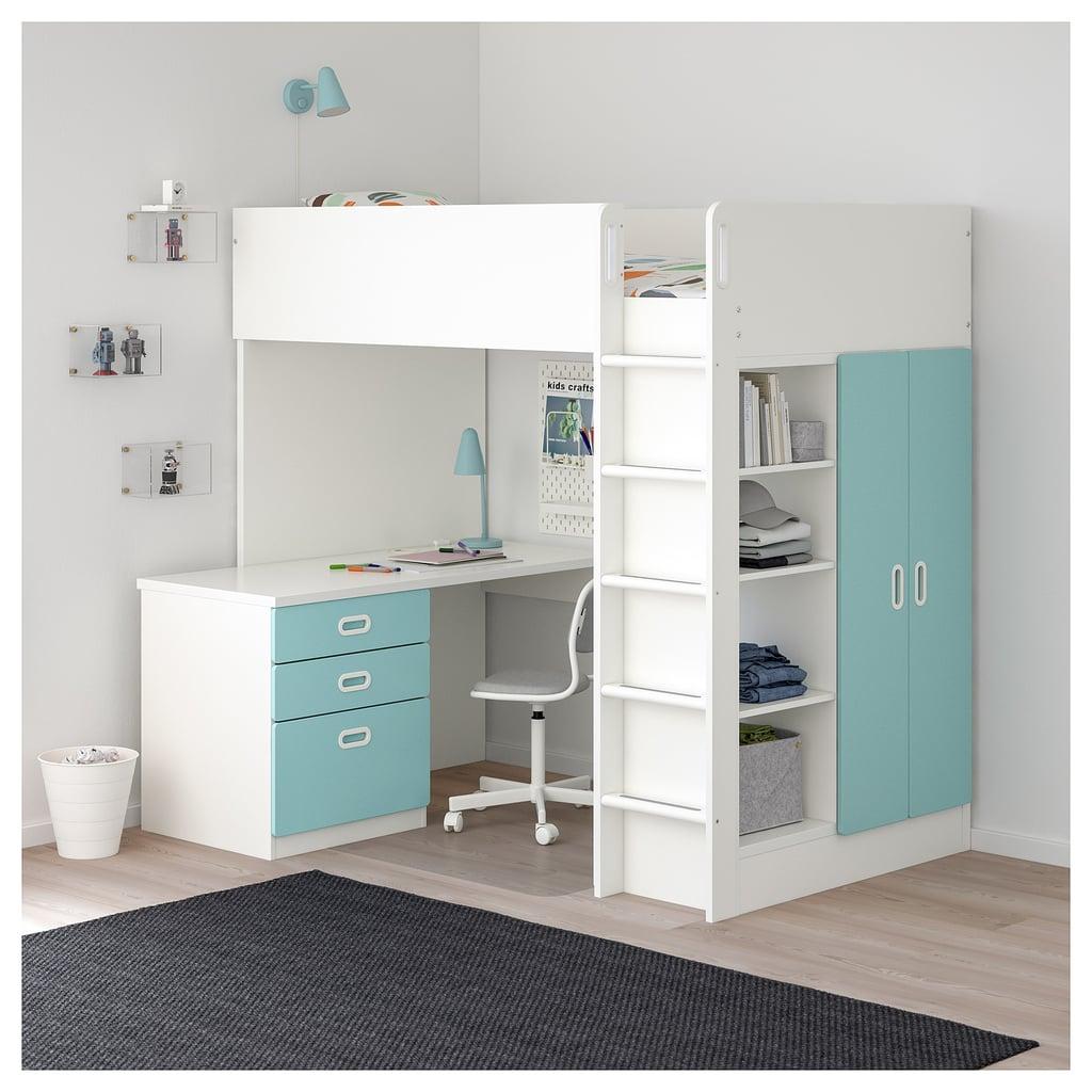 Stuva Fritids Loft Bed Best Ikea Bedroom Furniture For Small Spaces Popsugar Home Uk Photo 37