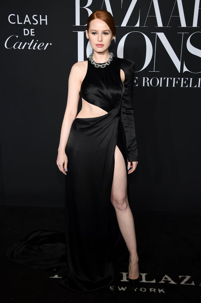 Madelaine Petsch at the Harper's Bazaar ICONS Party During New York Fashion Week