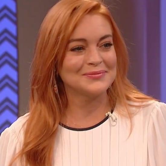Lindsay Lohan Wendy Williams Show 2018