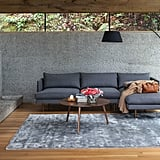 Article Burrard Graphite Gray Right Sectional Sofa