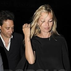 Kate Moss Pictures in London After Her Honeymoon With Jamie Hince