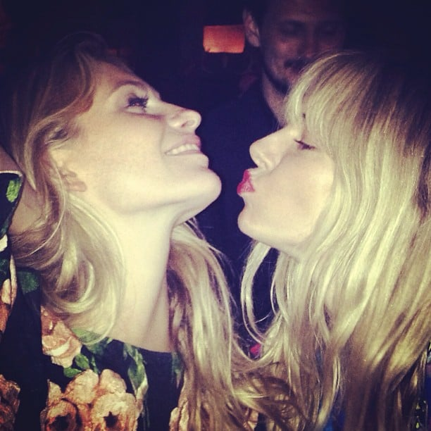 Poppy Delevingne partied in style with Sienna Miller. Source: Instagram user poppydelevingne