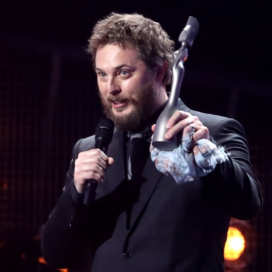 Duncan Jones Accepts David Bowie Album Award | Brits 2017