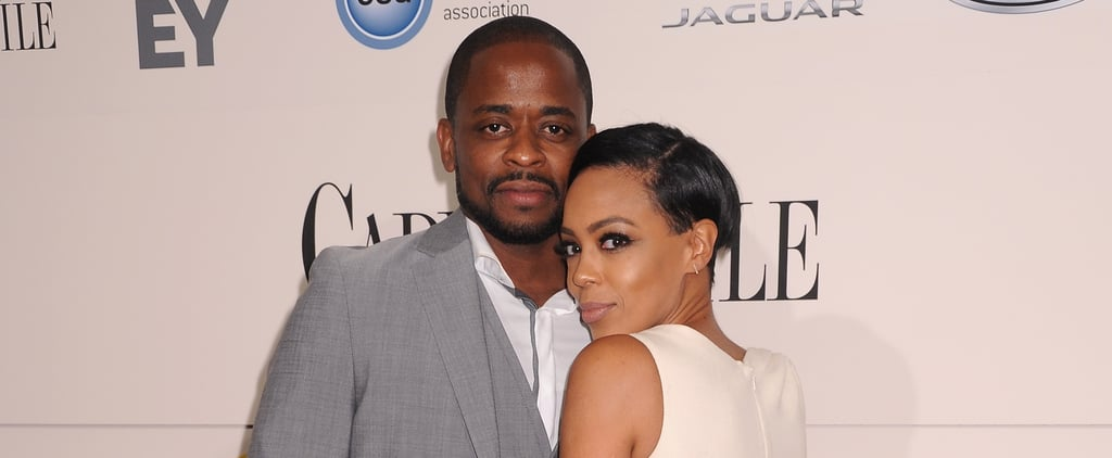 Cute Pictures of Dulé Hill and Jazmyn Simon