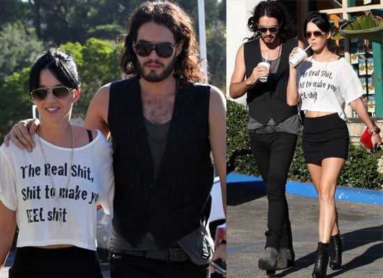Photos of Katy Perry and Russell Brand Out Together in LA