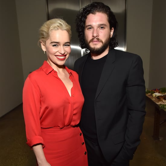 Kit Harington and Emilia Clarke at Haiti Rising Gala 2018